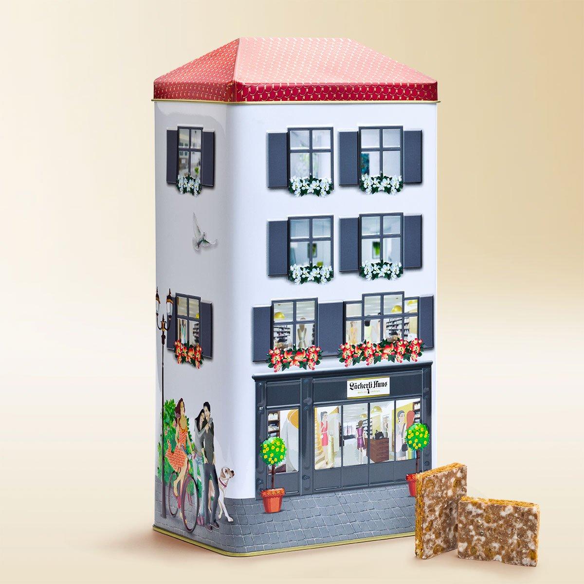 Energiewert Haus: Dose Läckerli Huus 1kg