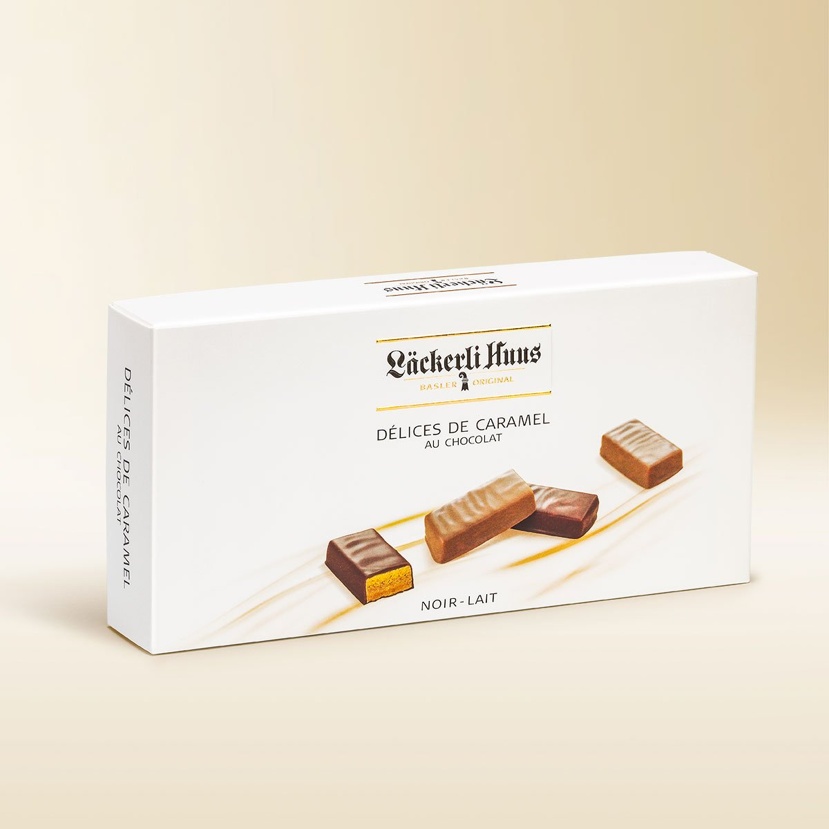 Délices de caramel au chocolat assortment 250g