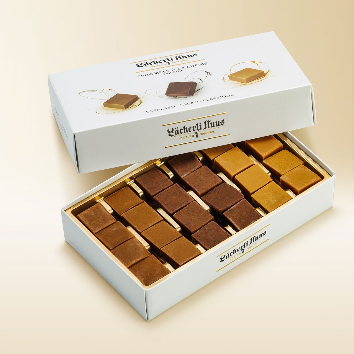 Cream caramels Trilogy 225g