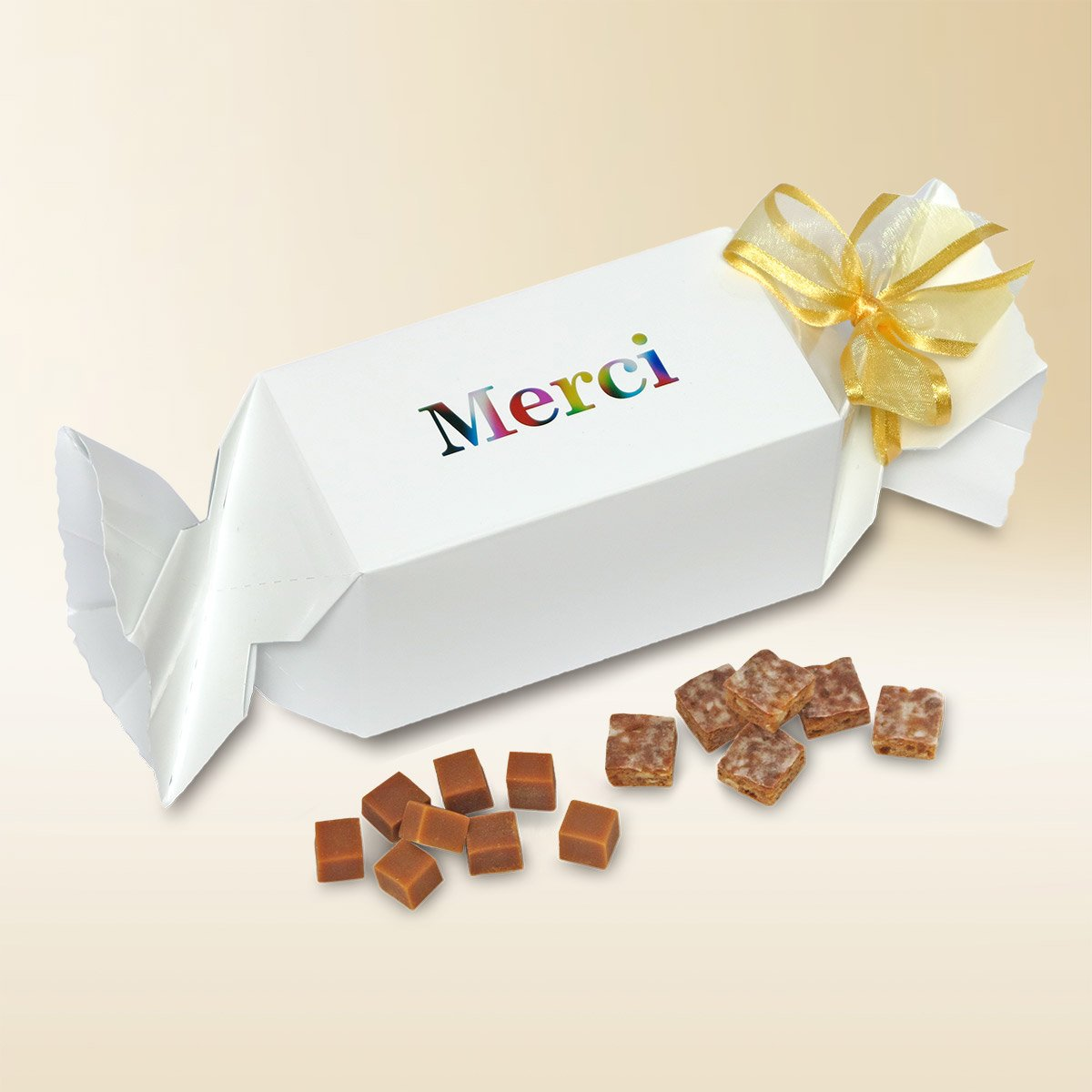 Pochette-surprise «Merci» Assortiment 180g