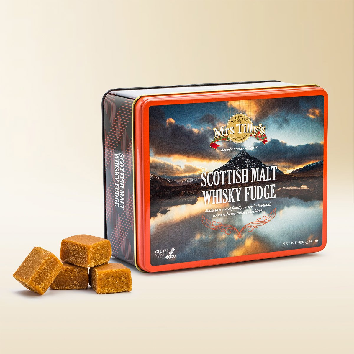Scottish Malt Whisky Fudge 400g