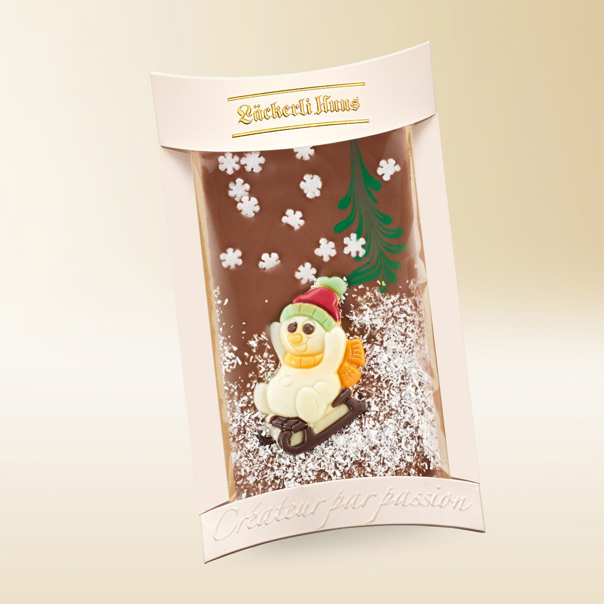Milk chocolate snowman 100g