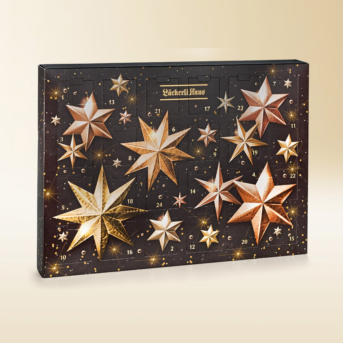 Pralines and truffes Advent calendar, 270g