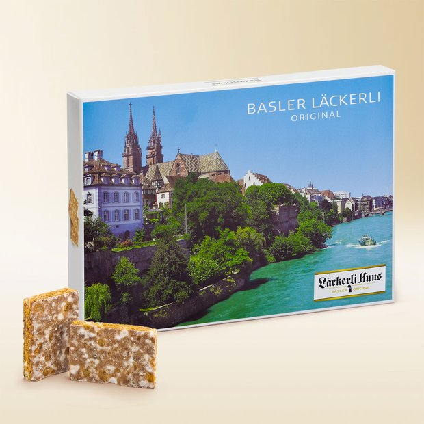 Basel Minster Box Basler Läckerli Original 270g
