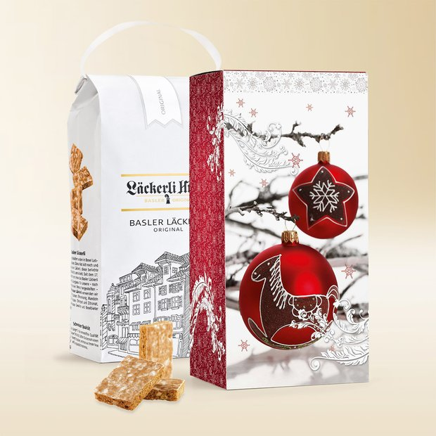 Basler Läckerli Original in a gift pack 1 kg