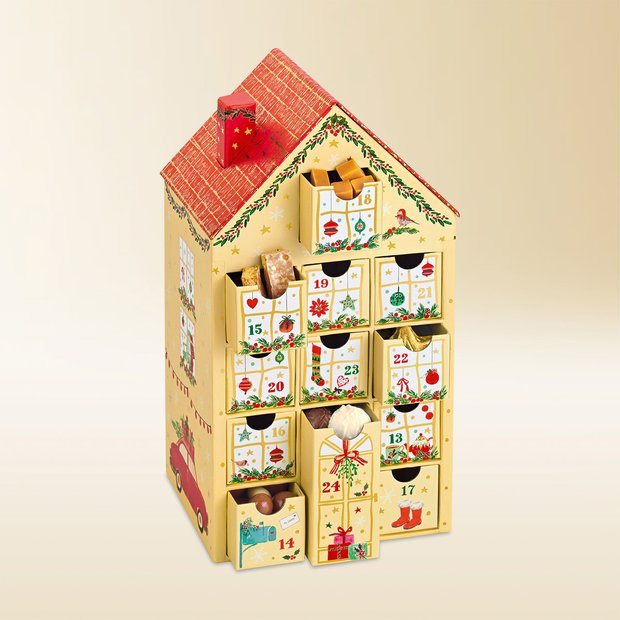 Läckerli Huus Advent calendar 495g