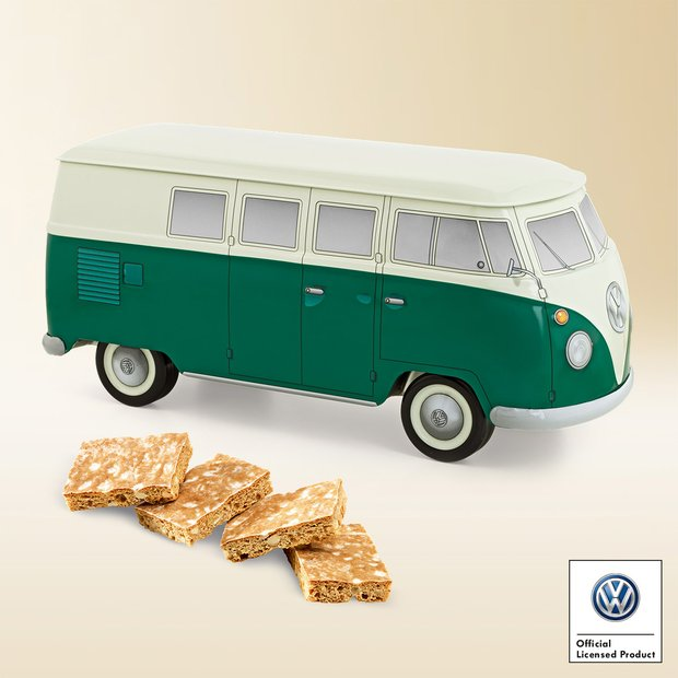 Tin VW bus green 490g