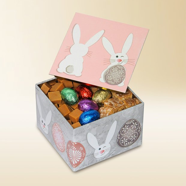 Boîte «Lapin pastel», Assortiment, 220g