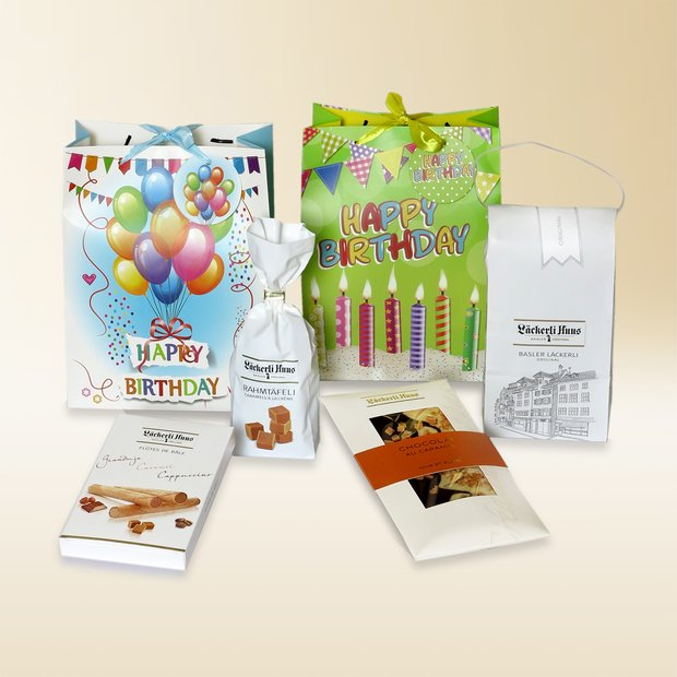 Happy Birthday gift bag 690g