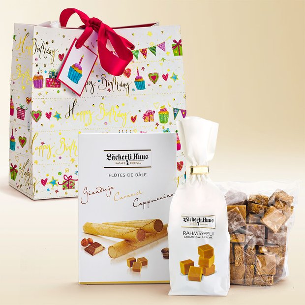 """Happy Birthday"" gift bag assortment 340g"