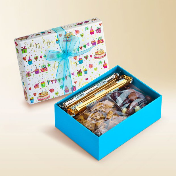 """Happy Birthday"" gift box assortment 360g"