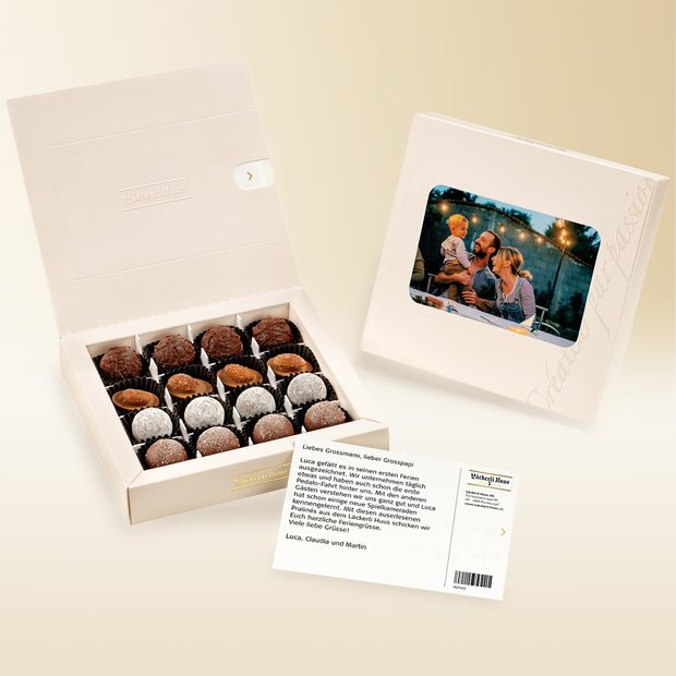 Individual chocolate box 16 pieces