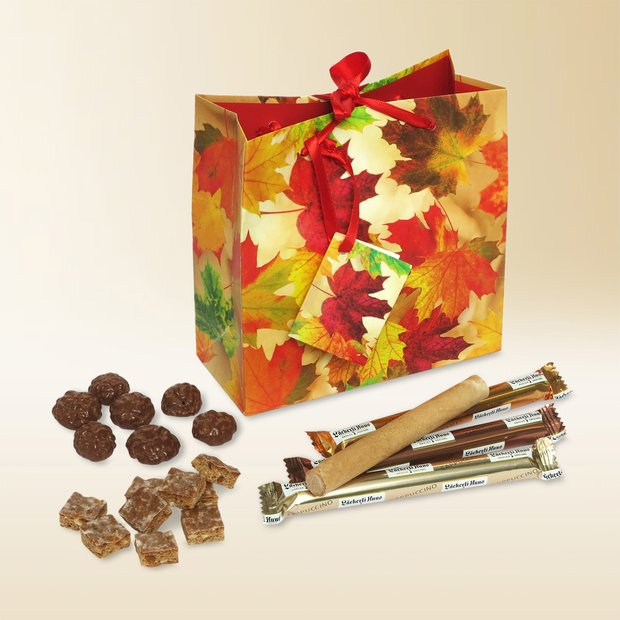 Autumn leaves gift bag 310g