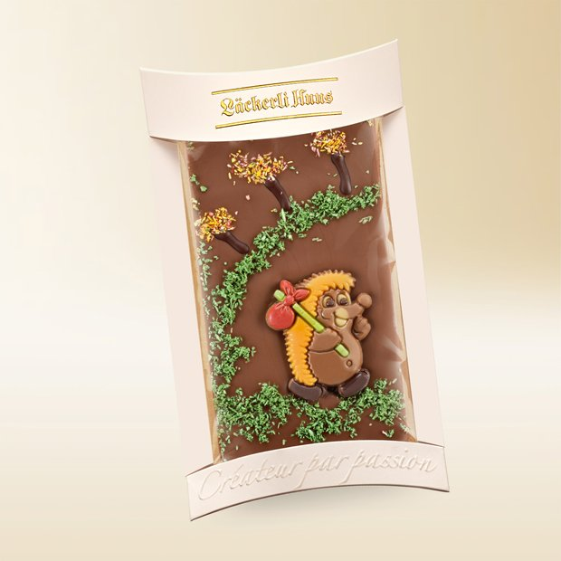 Milk chocolate hedgehog, 100g