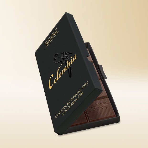 Chocolat Grand Cru Colombia 72%, 80g