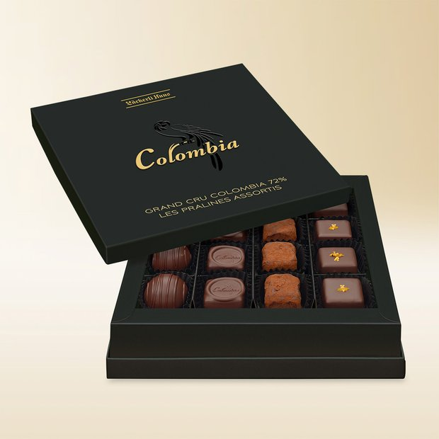 Grand Cru Colombia 72% Les Pralinés assortis, 170g