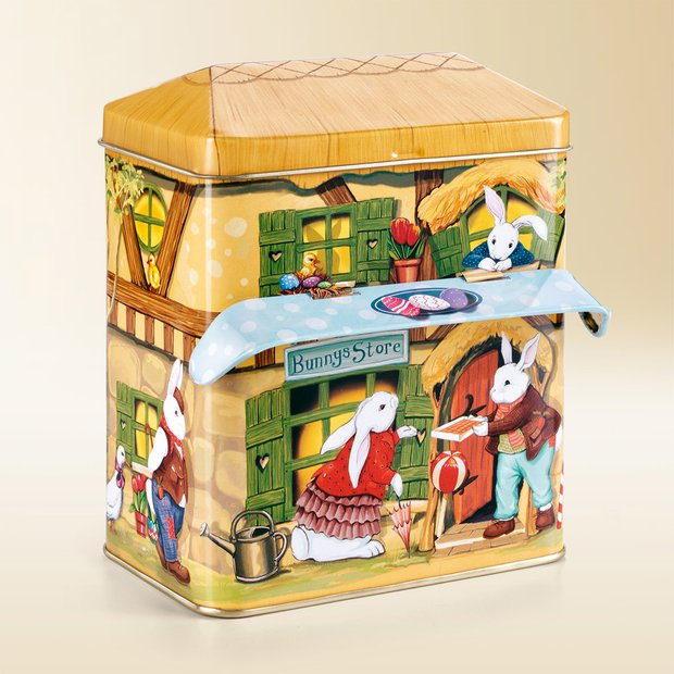 Easter house tin 415g