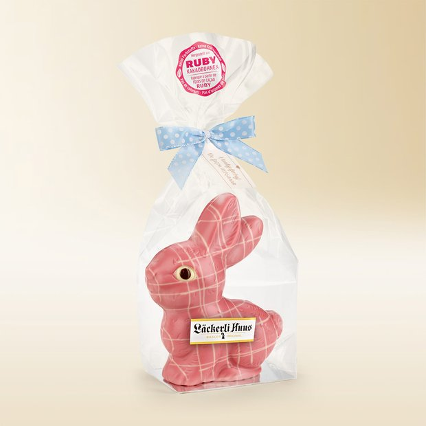 Chocolate bunny Ruby 100g