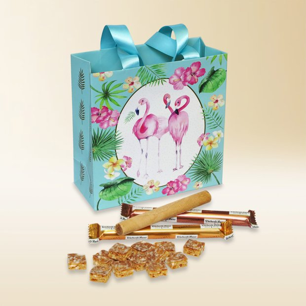 Gift bag Flamingo 290g