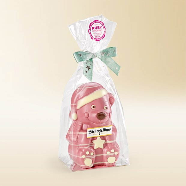 Ourson en chocolat Bear ruby 180g