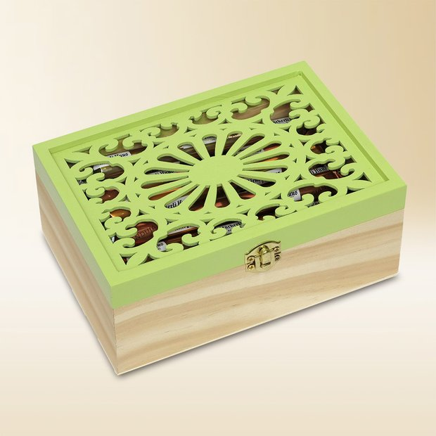 Wooden box, Assortiment, 270g