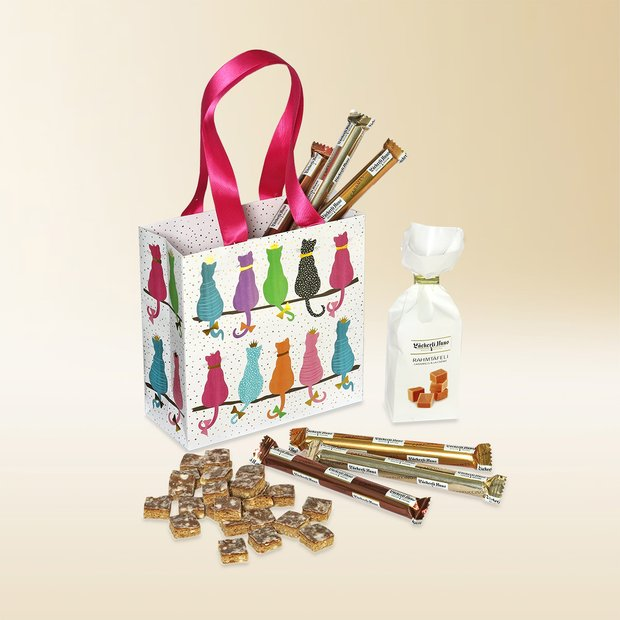 Cat gift bag 340g assortment