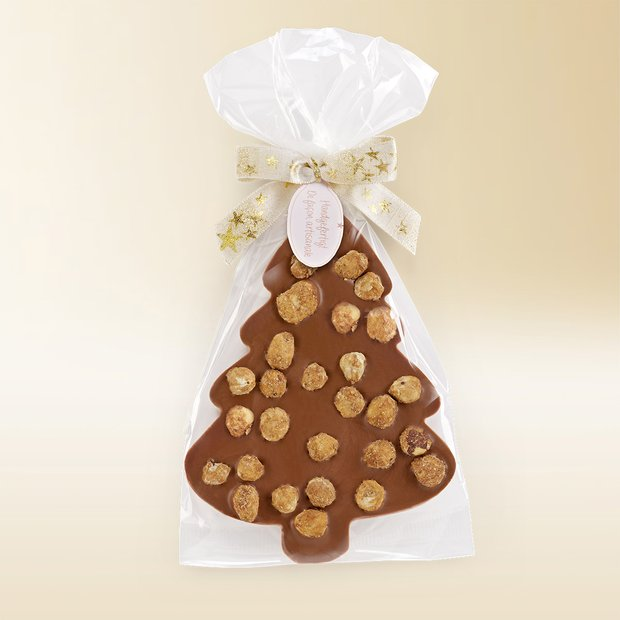 Chocolate Christmas tree aux noisettes au lait 100g