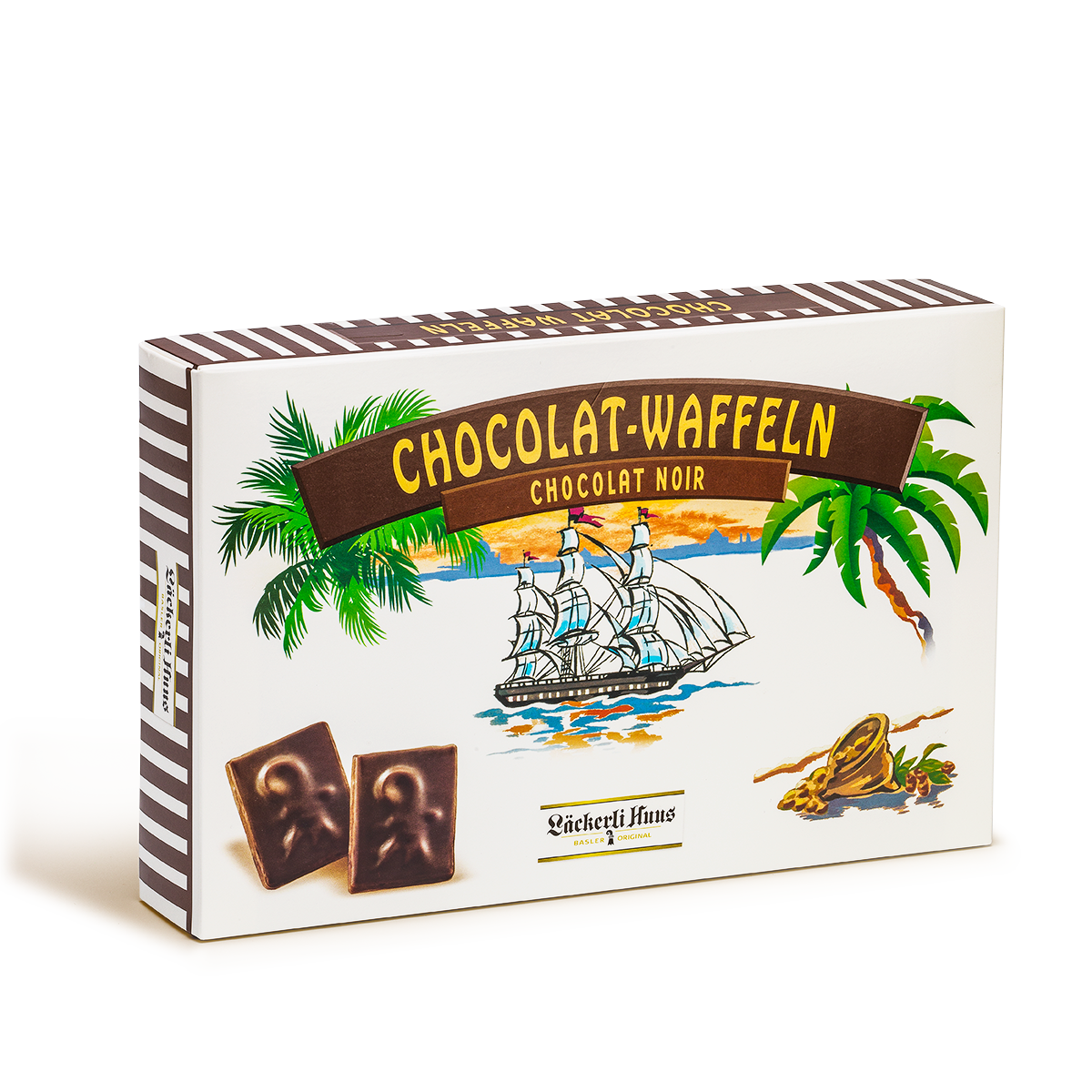 Chocolate wafers noir 390g
