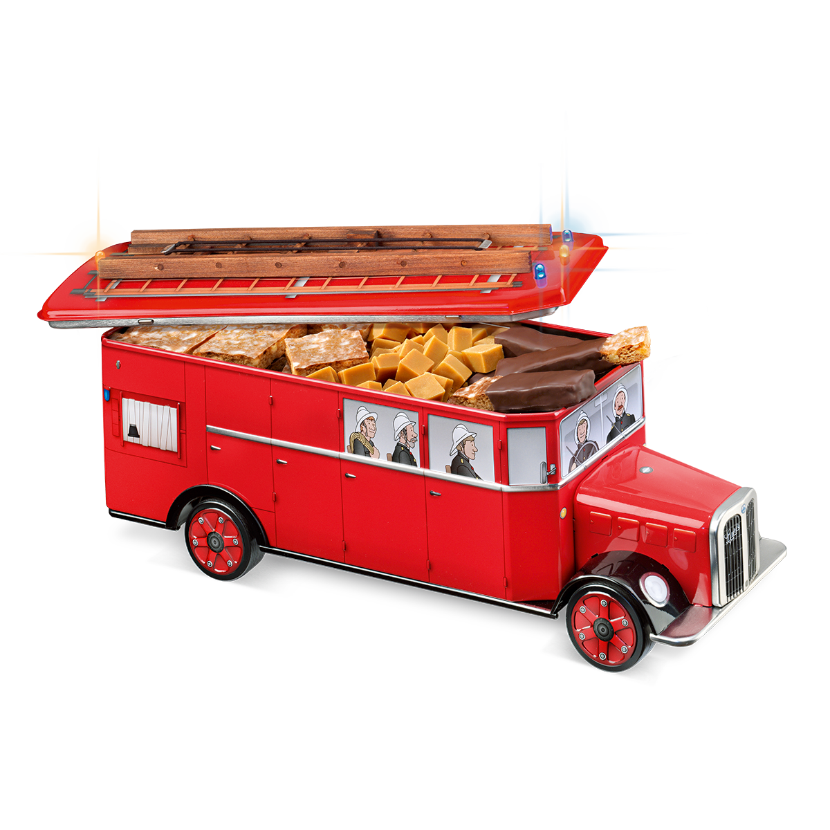 Fire engine tin assortment 570g