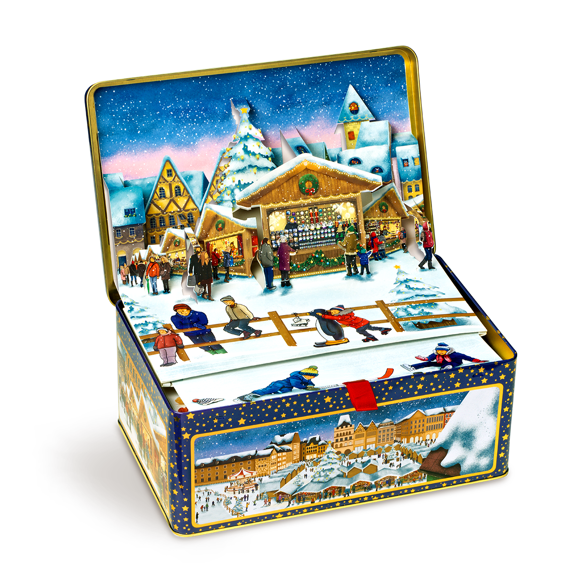 Christmas market tin 1080g